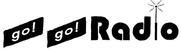WEBラジオ「go!go!Radio」ロゴ (okmusic UP's)