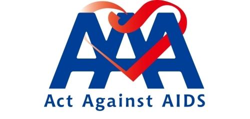 """Act Against AIDS 2013「アニソン AAA Vol.2」in Zepp Tokyo""ロゴ (okmusic UP\'s)"