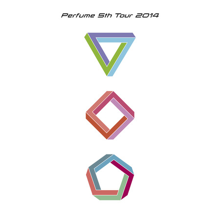 DVD『Perfume 5th Tour 2014「ぐるんぐるん」』【通常盤】 (okmusic UP's)