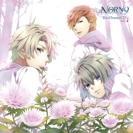『NORN9 ノルン+ノネット Trio DramaCD Vol.1』ジャケット画像 (C)IDEA FACTORY(okmusic UP\'s)