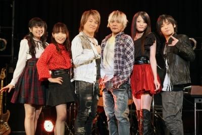 「アニぱら音楽館」新レギュラーに決定した織田かおり(右から2番目) (okmusic UP\'s)