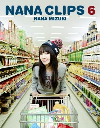 水樹奈々「NANA CLIPS 6」Blu-rayジャケット画像 (okmusic UP\'s)