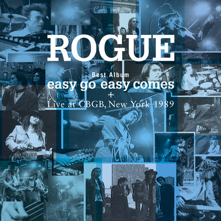 ベストアルバム『easy go easy comes+Live at CBGB,NewYork 1989』 (okmusic UP\'s)