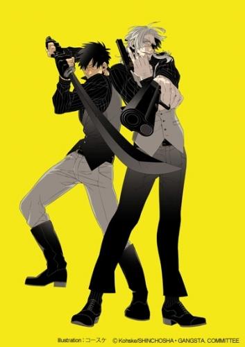 TVアニメ化も決定している人気コミックス「GANGSTA.」 Illustration:コースケ (C)Kohske/SHINCHOSHA・GANGSTA. COMMITTEE