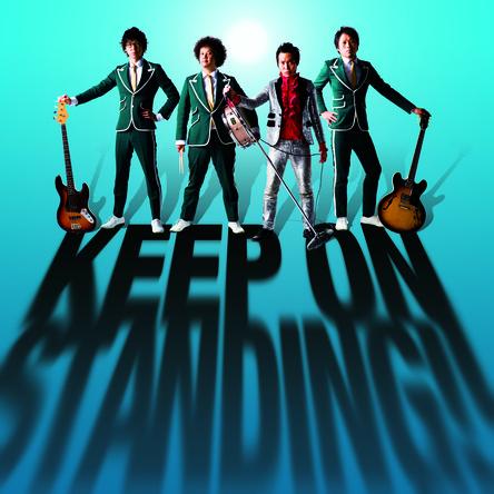 アルバム『KEEP ON STANDING!!』【初回限定盤】(CD+DVD) (okmusic UP's)