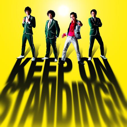 アルバム『KEEP ON STANDING!!』【通常盤】(CD) (okmusic UP's)