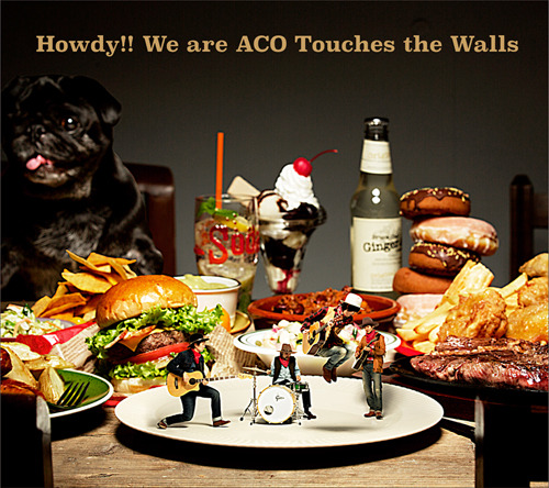 アルバム『Howdy!! We are ACO Touches the Walls』【初回限定盤】(CD+DVD) (okmusic UP's)