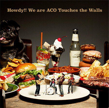 アルバム『Howdy!! We are ACO Touches the Walls』【通常盤】(CD) (okmusic UP's)