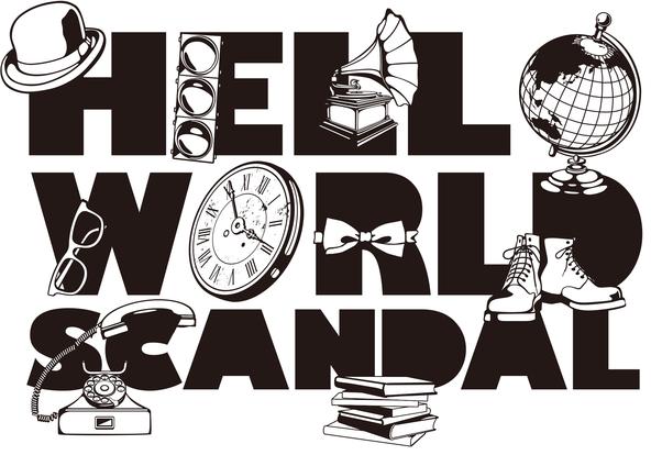 『SCANDAL WORLD TOUR 2015「HELLO WORLD」』ロゴ (okmusic UP's)