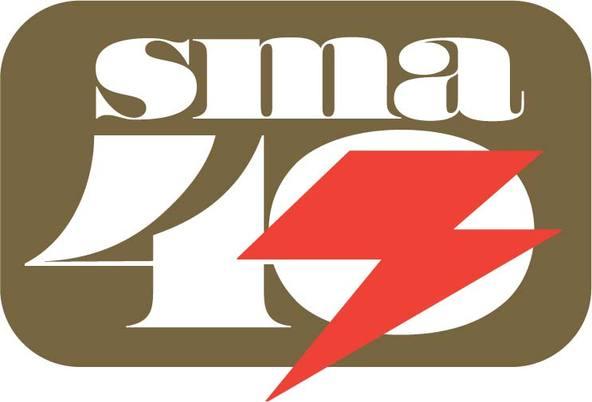 SMA40周年のロゴ (okmusic UP\'s)