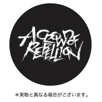acor ロゴ・オリジナル缶バッジ (okmusic UP's)