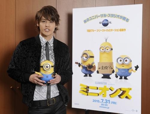 『ミニオンズ』第1弾日本語吹替キャストに決定した宮野真守 (C)2014 Universal Pictures.