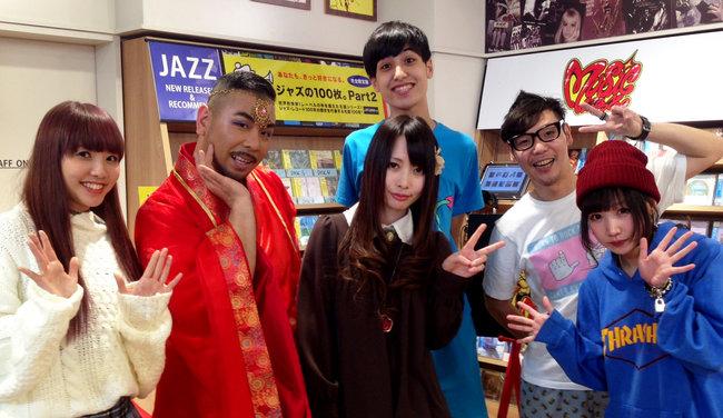 「にゅっと祭。」MC:日高 央 / Saku / AYAMO / けみお / ずれやまズレ子 / 橋爪もも