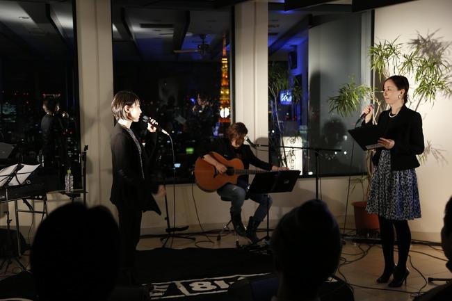 2月10日(火)@J-WAVE主催「J-WAVE BAR」プレミアム・アコースティック・ライブ