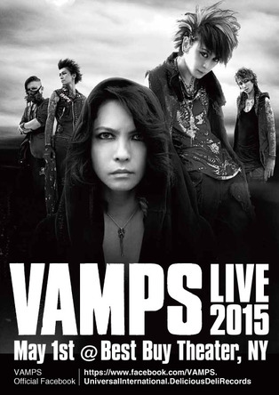 「VAMPS LIVE 2015 NY」 (okmusic UP's)