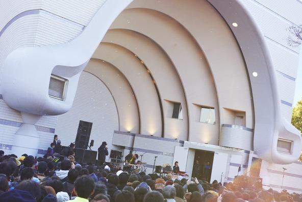 2月11日(水・祝)@代々木公園野外ステージ (okmusic UP's)