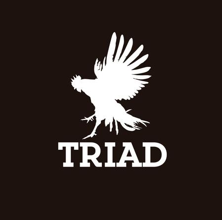 TRIAD ロゴ (okmusic UP's)