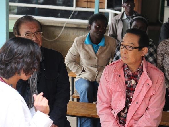 昨年11 月ケニアで医療施設の現状について  (okmusic UP's)