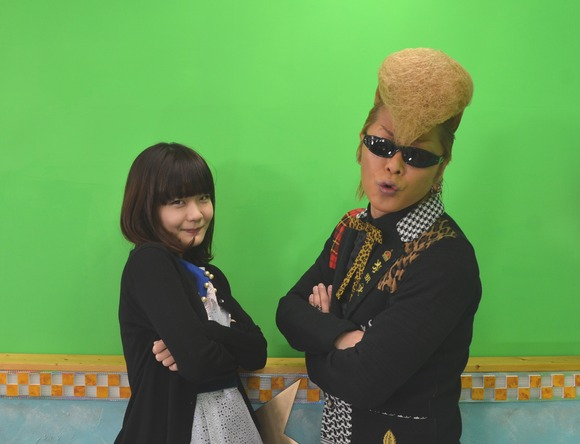吉澤嘉代子&綾小路翔(氣志團) (okmusic UP\'s)
