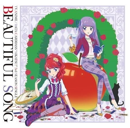 AIKATSU☆STARS!「Beautiful Song」ジャケット画像 (C)SUNRISE/BANDAI,DENTSU,TV TOKYO