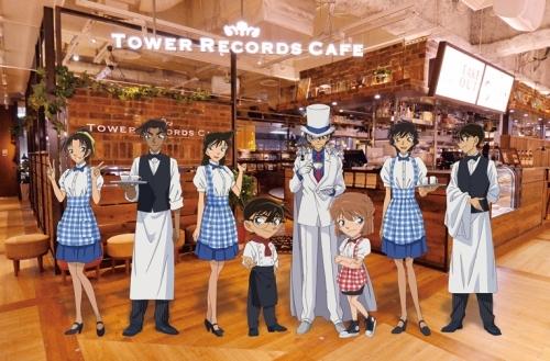 『コナンカフェ/Detective CONAN CAFE @ TOWER RECORDS CAFE』メインビジュアル (C)青山剛昌/小学館・読売テレビ・TMS 1996