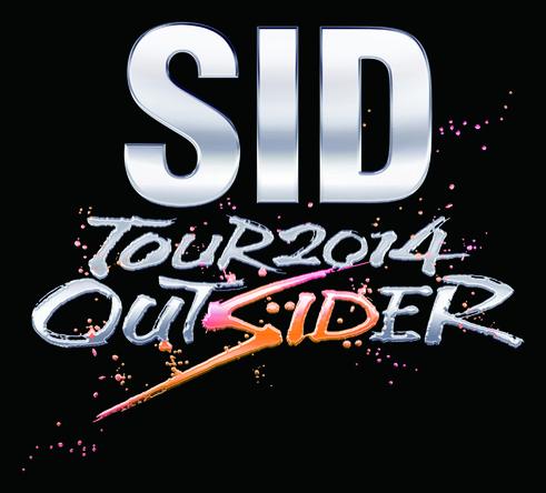 「SID TOUR 2014 OUTSIDER」ロゴ (okmusic UP's)