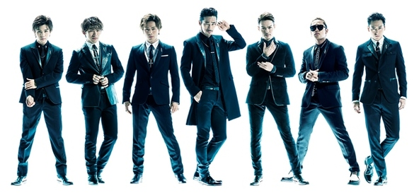 三代目J Soul Brothers from EXILE TRIBE (okmusic UP's)