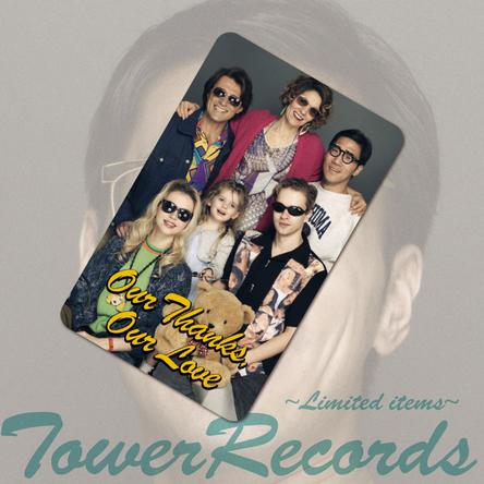 TOWER RECORDS限定 先着購入特典 ステッカー (okmusic UP's)