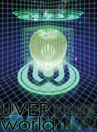 DVD & Blu-ray『UVERworld Live at Kyocera Dome Osaka 2014.07.05』【初回生産限定盤】 (okmusic UP's)