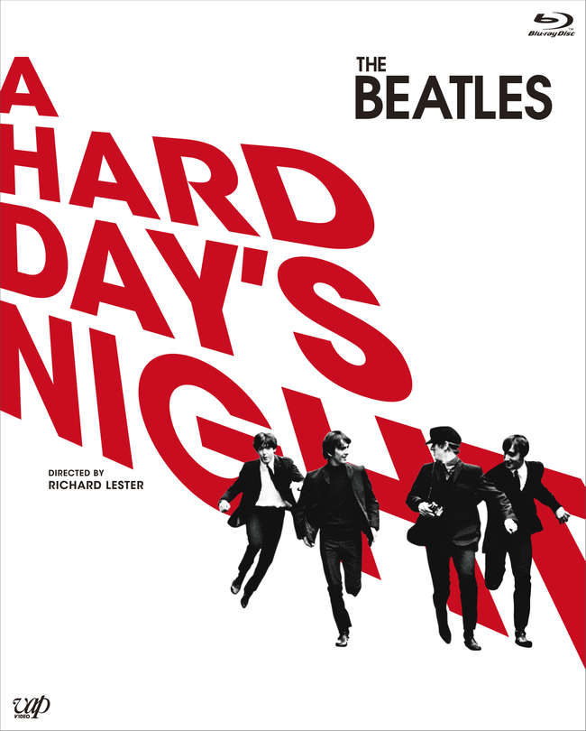 Blu-ray『A HARD DAY'S NIGHT』 (c)HDN, LLC. All Rights Reserved / Exclusively licensed to TAMT Co., Ltd. for Japan / Distributed by VAP, Inc.