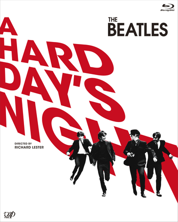 Blu-ray『A HARD DAY'S NIGHT』 (c)HDN, LLC. All Rights Reserved / Exclusively licensed to TAMT Co., Ltd. for Japan / Distributed by VAP, Inc.(okmusic UP's)