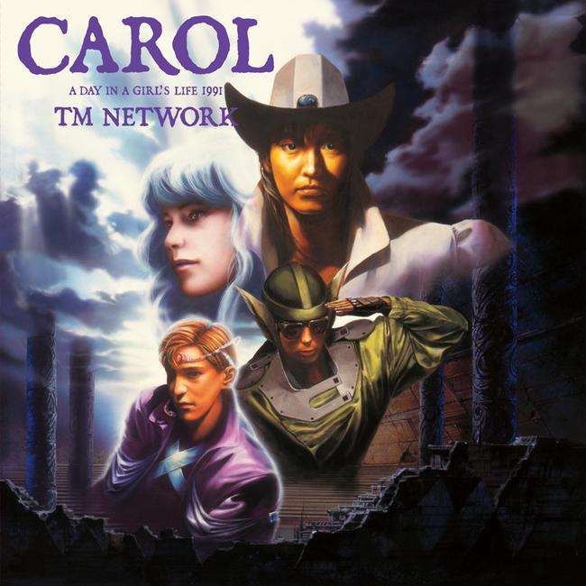 『CAROL 〜A DAY IN A GIRL'S LIFE 1991〜』のジャケット写真