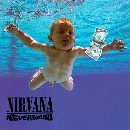 『Nevermind』のジャケット写真 (okmusic UP\'s)