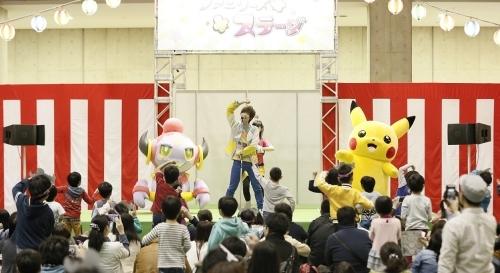 AnimeJapan2015のファミリー向けエリア「ファミリーアニメフェスタ」ポケモンスペシャルステージに出演した佐香智久