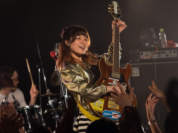 4月5日@東京・表参道GROUND (okmusic UP's)