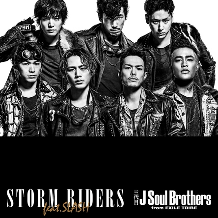 シングル「STORM RIDERS feat.SLASH」【CD】 (okmusic UP's)