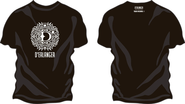 D'ERLANGER×TOWER RECORDS T-Shirts (okmusic UP's)