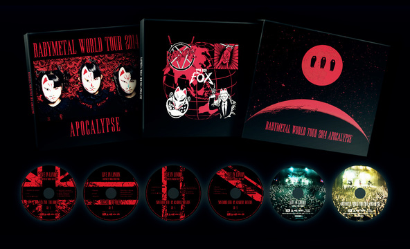 - THE ONE - 限定 Blu-ray『BABYMETAL WORLD TOUR 2014 APOCALYPSE』 (okmusic UP's)