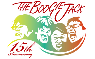 THE BOOGIE JACK 15周年ロゴ (okmusic UP's)