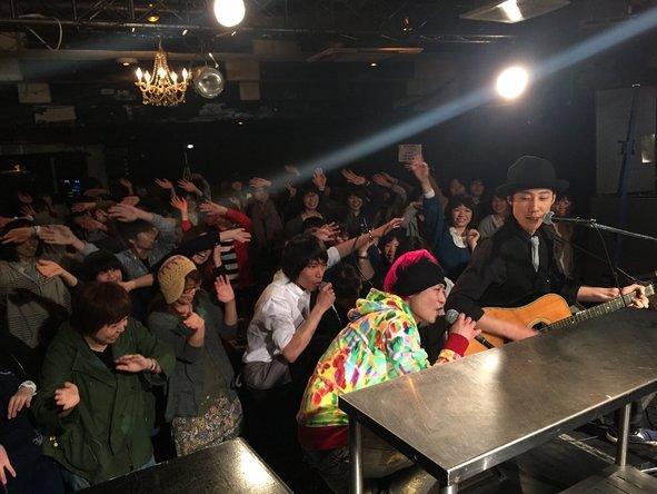 4月12日@下北沢GARAGE (okmusic UP's)
