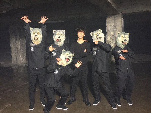 MAN WITH A MISSION×綾野剛 (okmusic UP's)