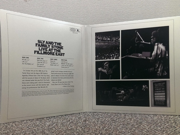 LP盤『Live at the Fillmore East October 4th & 5th, 1968』 (okmusic UP's)