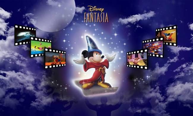 """「ディズニー・ファンタジア・コンサート」 """"Presentation made under license from Buena Vista Concerts, a division of ABC Inc. (C) Disney All rights reserved"""""""