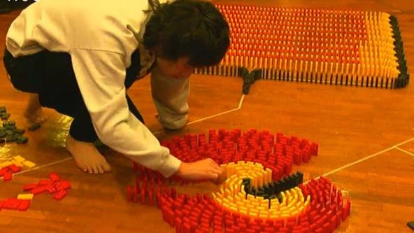 忘れらんねえよの柴田隆浩がドミノで日本記録に挑戦 (okmusic UP's)