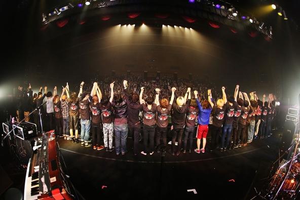 『I ROCKS 2015』1日目集合写真 (okmusic UP's)