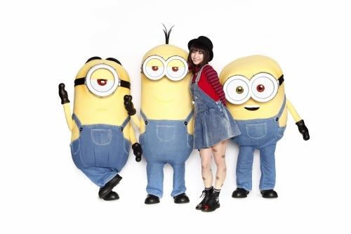 映画『ミニオンズ』に日本語吹替キャストとして出演が決定したLiSA (C)2014 Universal Pictures.