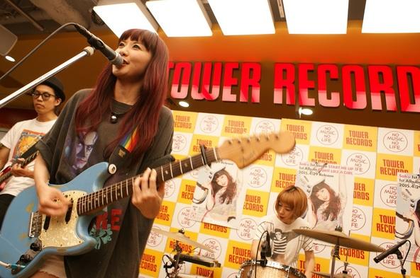 4月29日(水・祝)@渋谷タワーレコード1F (okmusic UP\'s)