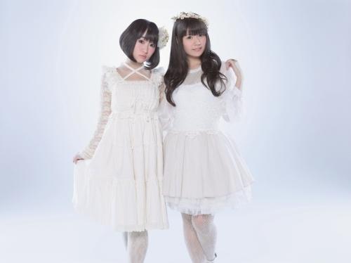 """petit milady""の2人(左:悠木碧、右:竹達彩奈) (okmusic UP\'s)"