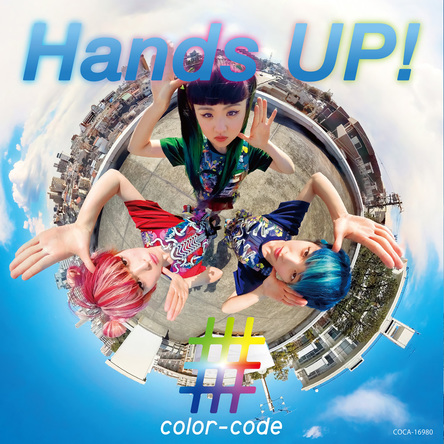 シングル「Hands UP!」 (okmusic UP's)