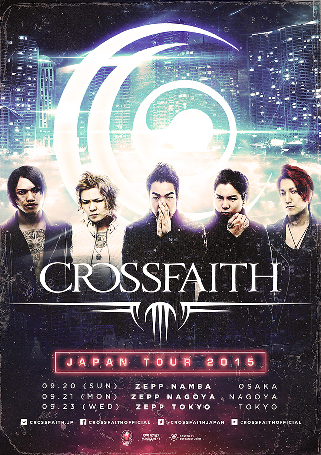 『Crossfaith Japan Tour 2015』